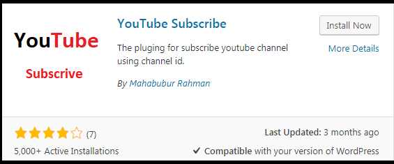 add YouTube subscribe button